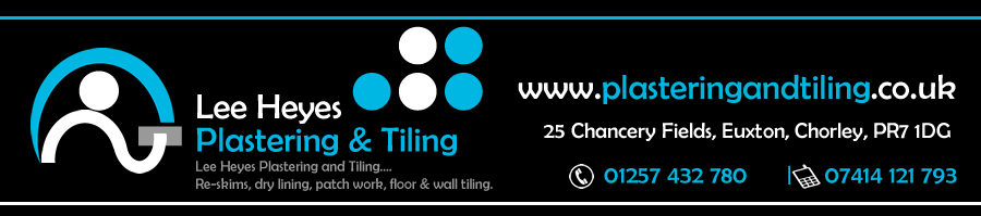Lee Heyes Plastering and Tilling